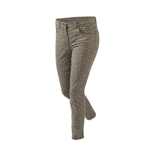 Pantalon ceinture magique léopard RAPHAELA-BY-BRAX Votre pantalon grand confort : le pantalon avec ceinture magique de RAPHAELA-BY-BRAX.
