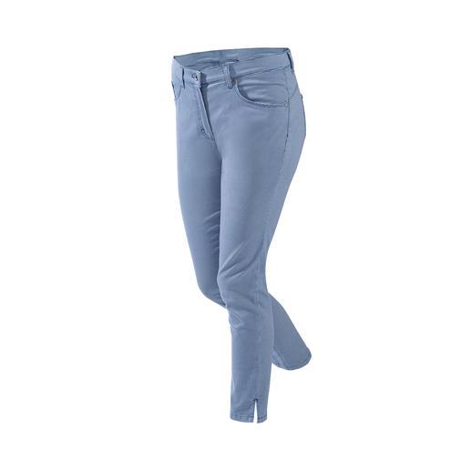 Pantalon ceinture magique mini carreaux RAPHAELA-BY- BRAX Votre pantalon grand confort : le pantalon avec ceinture magique de RAPHAELA-BY-BRAX.