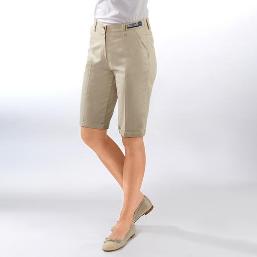 Bermuda ceinture magique RAPHAELA-BY-BRAX Votre pantalon grand confort : le bermuda avec ceinture magique de RAPHAELA-BY-BRAX.