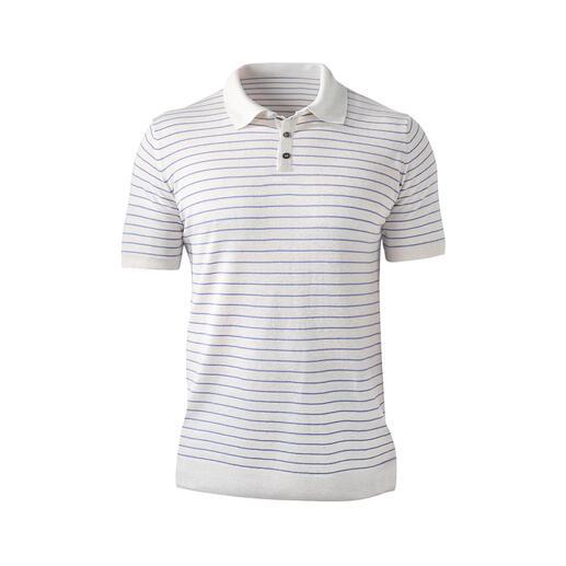 Polo en lin et Tencel® Plus frais et plus décontracté que le pur Tencel® : le Tencel® avec lin et coton.