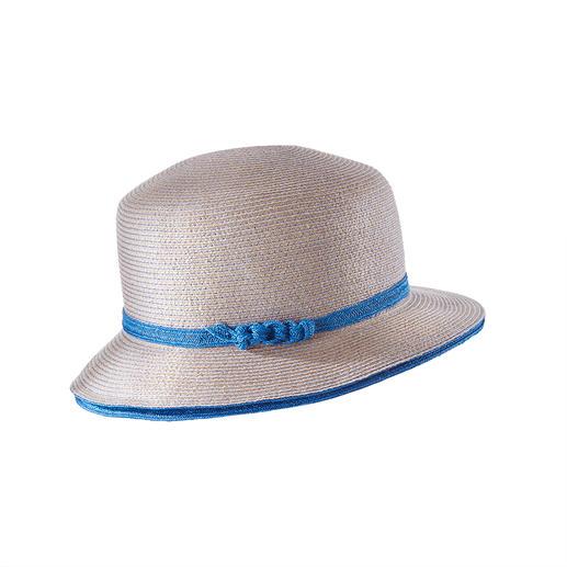 Cloche lin et chanvre Mayser Le chapeau cloche décontracté en lin et chanvre de Mayser, l'art de la chapellerie allemande depuis 1800.