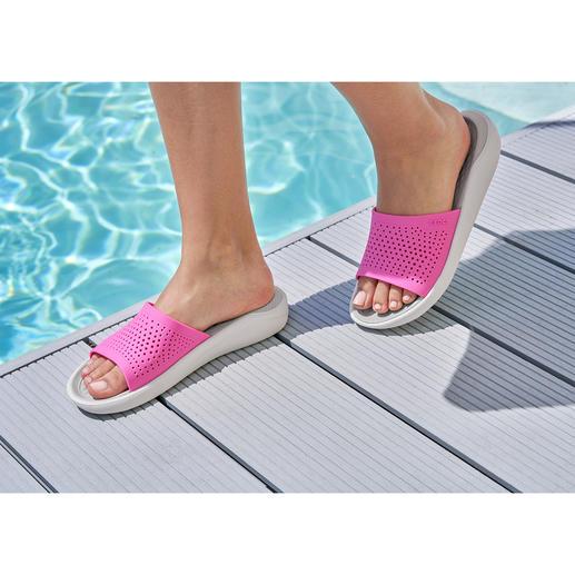Chaussures de bain Crocs™ LiteRide™, pour femme La nouvelle collection LiteRide™ est 40 % plus souple, 25 % plus légère ect.