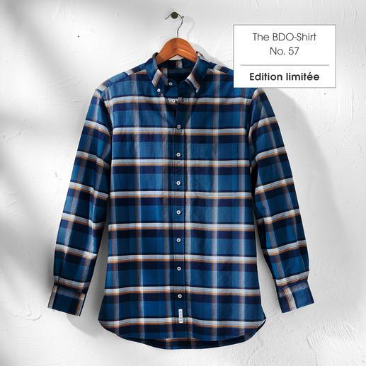 The BDO Shirt, Limited Edition No. 57 Redécouvrez une bonne vieille amie. Et oubliez qu'une chemise doit être repassée.