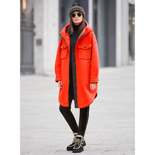 Parka couture-sport Goldbergh, orange Streetwear sportif ou sportswear stylé ? Les deux à la fois ! Par Goldbergh.
