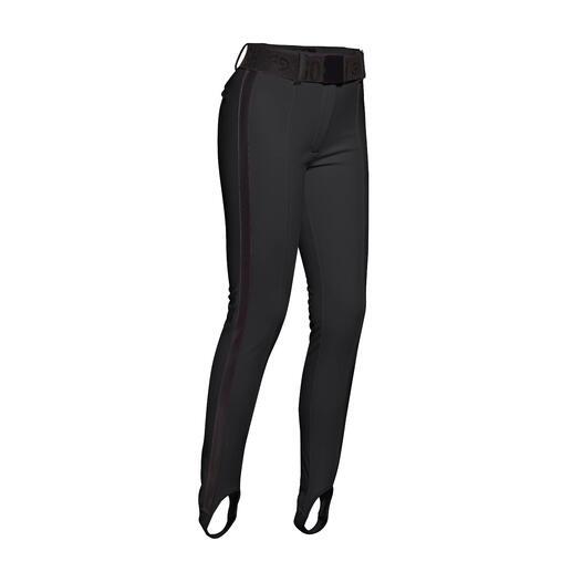 Fuseau et pantalon de ski étroit en softshell. Fuseau et pantalon de ski étroit en softshell.