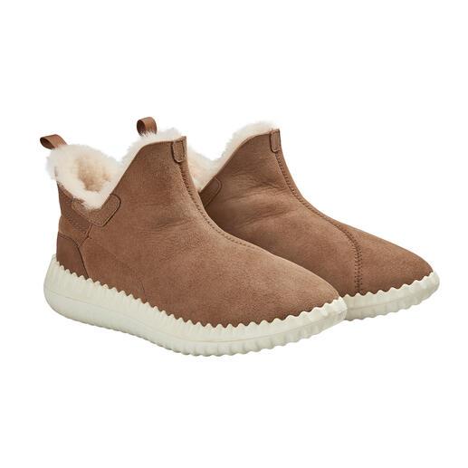 Bottines en cuir d'agneau Pajar® Ligne plus mince. Semelle sneaker tendance. Qualité premium de Pajar®, Montréal/Canada.