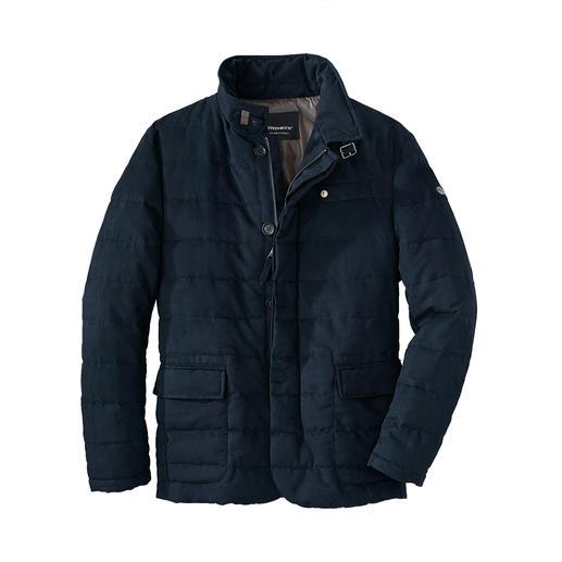 Veste traditionnelle Easy Care Plus légère et moins sensible que le daim. Mais tout aussi luxueuse et chic. De Steinbock®.