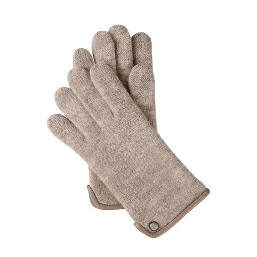 Gants en laine bouillie Roeckl, pour femme Beaucoup plus doux et plus résistants aux intempéries que les gants en laine normaux grâce à la laine bouillie.
