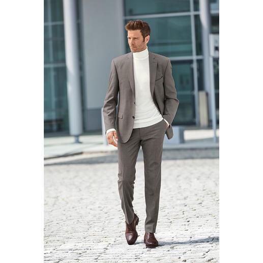 Pantalon ou Veste en flanelle Super 120 Carl Gross Plus noble et plus léger que de nombreux costumes de flanelle rustiques et lourds – mais tout aussi chaud.