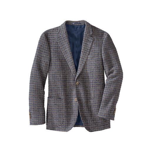 Veston pied-de-poule en bouclé Beaucoup plus léger (et en même temps plus chaud) que d'habitude. Et aussi doux que votre pull préféré.
