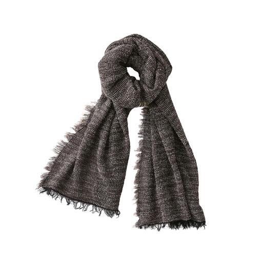 Foulard bouclé Hohenberger, pour homme Aussi doux et chaud que les autres foulards bouclés à la mode. Mais beaucoup plus léger.