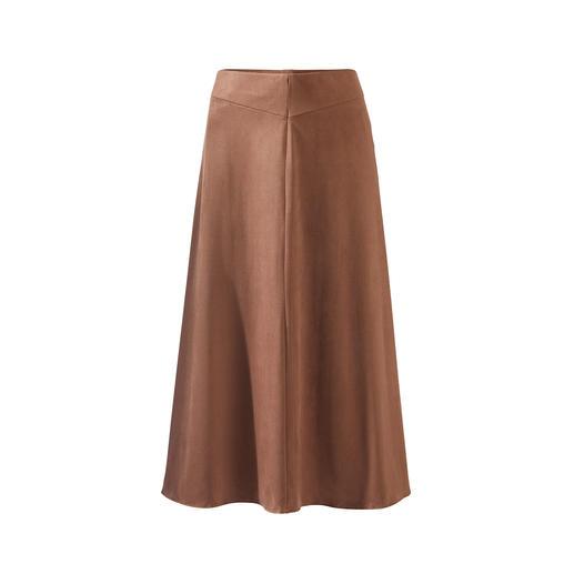 Jupe Alcantara® Seductive La jupe tendance en Alcantara® doux et velouté. Coupe tendance et couleur actuelle. Par Seductive.