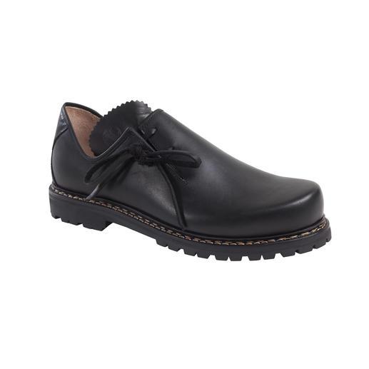 Chaussures bavaroises Haferl, homme Chaussures bavaroises (Haferl) originales. Avec une nouvelle semelle en caoutchouc Vibram® légère.