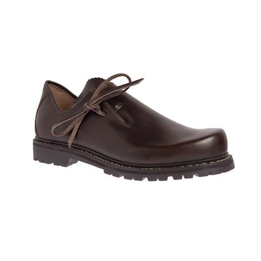 Chaussures bavaroises Haferl, homme, Brun Chaussures bavaroises (Haferl) originales. Avec une nouvelle semelle en caoutchouc Vibram® légère.