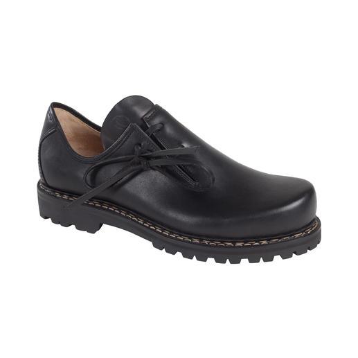 Chaussures bavaroises Haferl, femme Chaussures bavaroises originales. Avec une nouvelle semelle en caoutchouc Vibram® légère.
