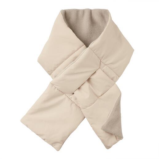 Écharpe matelassée Loevenich L'écharpe matelassée plate à enfiler : chaude, douce et résistante aux intempéries.