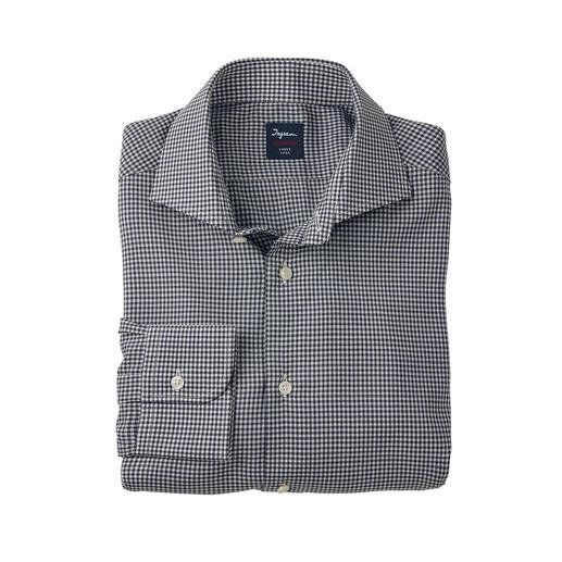 Chemise en laine Super 130 Ingram Votre chemise d'affaires probablement la plus simple et la plus raffinée qui régule la température.
