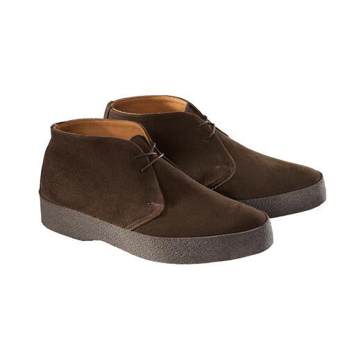 Bottines Chukka en suède Sanders Culte depuis les années 60 – aujourd'hui de nouveau top tendance : la chaussure Chukka originale.