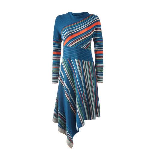 Robe en tricot à rayures Ivko Une robe en tricot jacquard dans une variété extraordinaire de couleurs et de motifs.