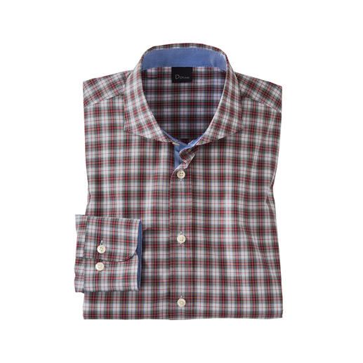 Chemise à tartan Dorani Les chemises tartan authentiques sont rarement aussi fines et légères. Par Dorani.