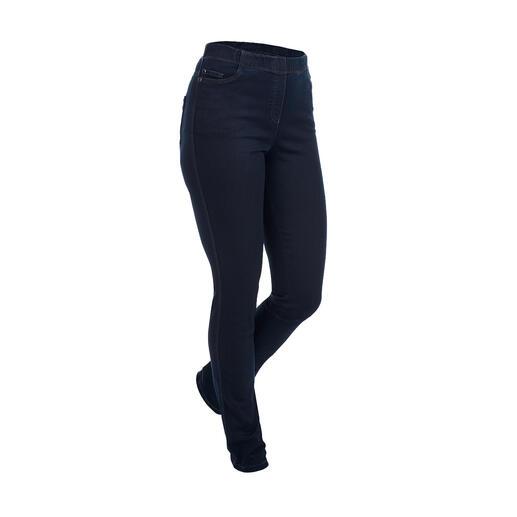 Jeggings bleu denim Le jegging : aussi confortable qu'un legging. Avec l'allure d'un jean moulant.
