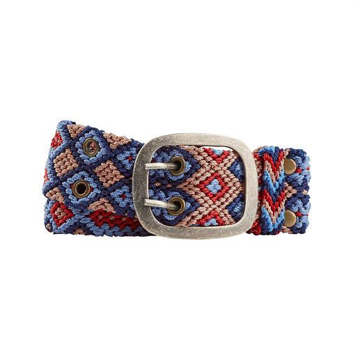 Ceinture Quipu Smitten Probablement la ceinture ethnique la plus authentique : nouée à la main selon la méthode des Incas.