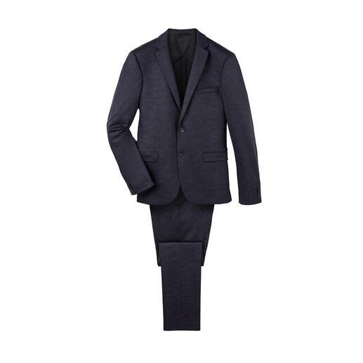 Veste ou Pantalon jersey Super120 Les costumes en jersey confortables sont rarement aussi beaux et aussi élégants.