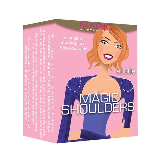Épaulettes MAGIC®, la paire Un renfort pour vos épaules : la cerise sur le gâteau de la silhouette féminine parfaite.