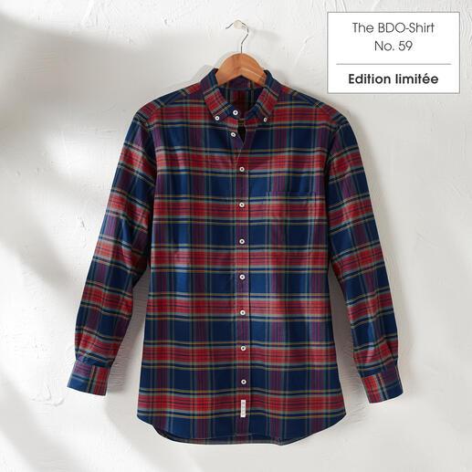 The BDO Shirt, Limited Edition No.59, Regular Fit Redécouvrez une bonne vieille amie. Et oubliez qu'une chemise doit être repassée.
