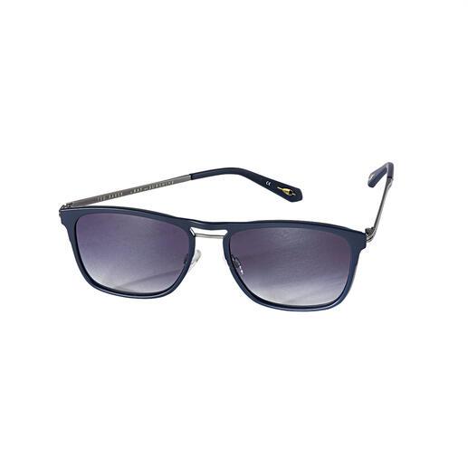 Lunettes de soleil de pilote Ted Baker, cool blue Typique : le chic britannique tendance et décent. Atypique : le prix incroyablement abordable.