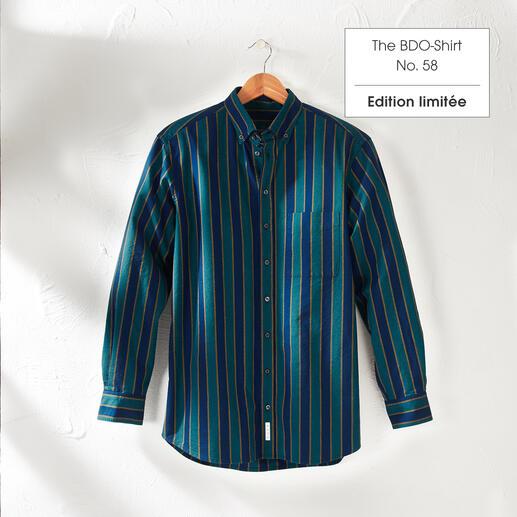 The BDO-shirt, Limited Edition No. 58, Regular Fit Redécouvrez une bonne vieille amie. Et oubliez qu'une chemise doit être repassée.