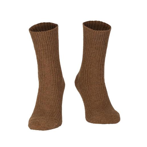 Chaussettes poils de chameau