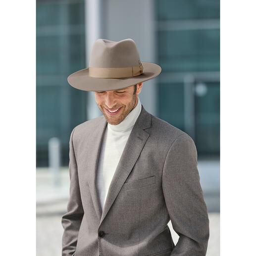 Chapeau en laine Escorial Mayser Encore plus doux que le cachemire : le chapeau en Royal Escorial, la meilleure laine mérinos du monde.