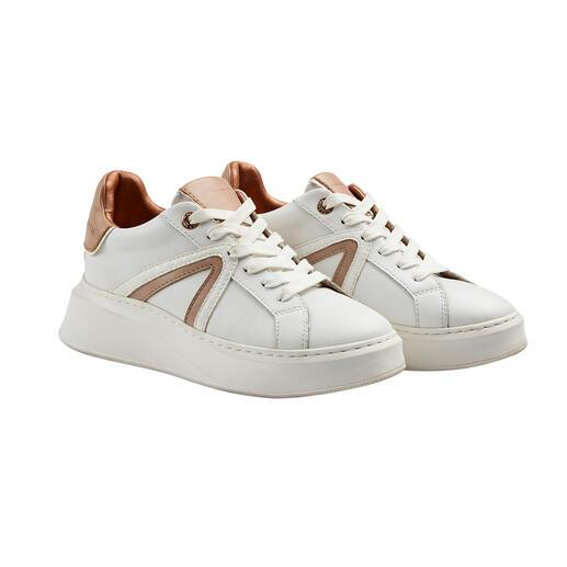 Sneaker Alexander Smith, blanc/nude Sneakers premium au design et à la qualité haut de gamme – le tout à un prix très abordable.