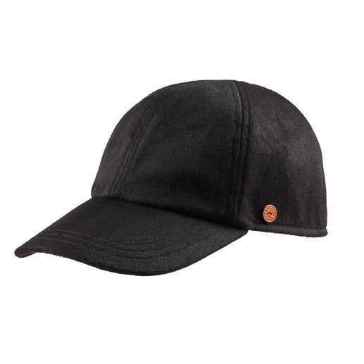 Casquette en cachemire Mayser En cachemire agréablement doux et léger : voilà à quel point une casquette de baseball peut être luxueuse.