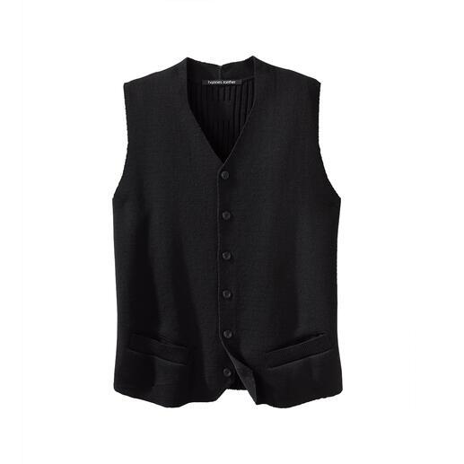 Gilet en tricot Hannes Roether Longtemps cherché, enfin trouvé : peu de gilets sont aussi élégants et confortables à la fois.