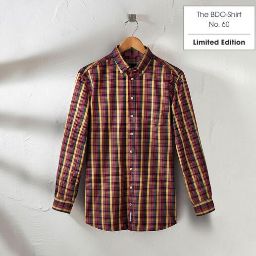 The BDO-shirt, Limited Edition No. 60, Regular Fit Redécouvrez une bonne vieille amie. Et oubliez qu'une chemise doit être repassée.