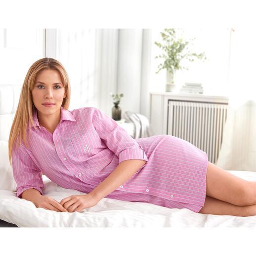Chemise de nuit Pink Stripes Ralph Lauren
