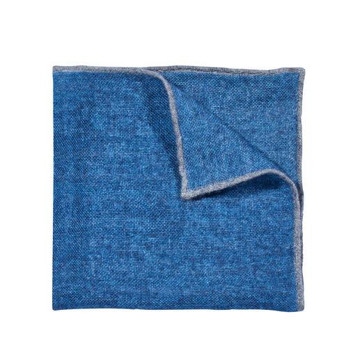 Pochette de costume en cachemire Pellens & Loick Votre pochette de costume probablement la plus décontractée (et la plus noble) est faite du meilleur cachemire.
