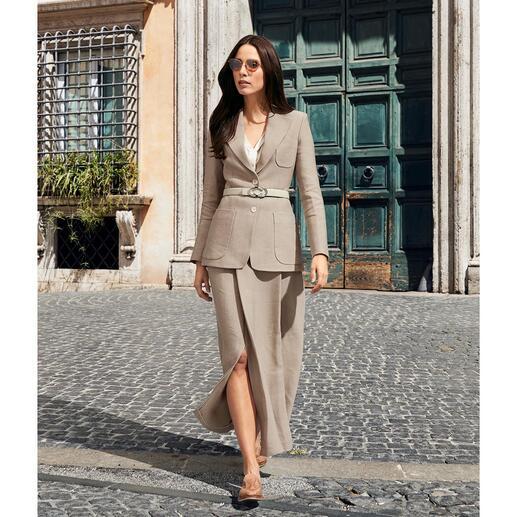 Blazer ou Jupe maxi SLY010 Le costume d'affaires féminin classique peut être aussi élégant, décontracté et épuré.