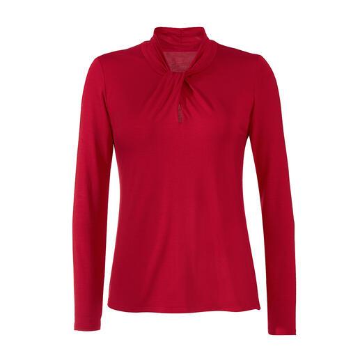 Shirt en Tencel™ Douceur soyeuse. Bien plus élégants et féminins : les t-shirts à manches longues en jersey de Tencel™ rare.