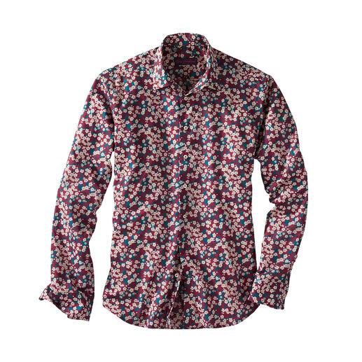 Chemise « Mitsi » Tana-Lawn Liberty™ La chemise à fleur pour gentleman : tendance chez les autres. Mais chez Liberty™, une tradition.