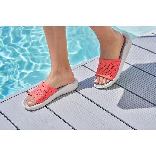 Chaussures de bain Crocs™ LiteRide™, pour homme et femme La nouvelle collection LiteRide™ est 40 % plus souple, 25 % plus légère.