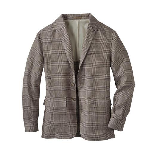 Veste en lin Teba La veste estivale Teba en lin irlandais : aussi stylée qu'un veston. Aussi décontractée qu'une veste.