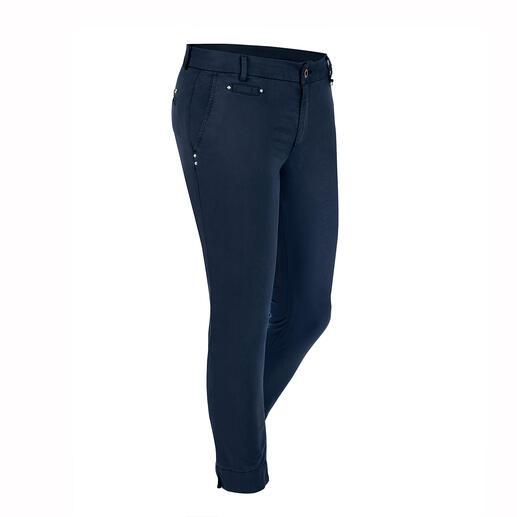 Pantalon chino estival Mason's Parfaitement coupé pour la silhouette féminine : le pantalon chino par le spécialiste Mason's.