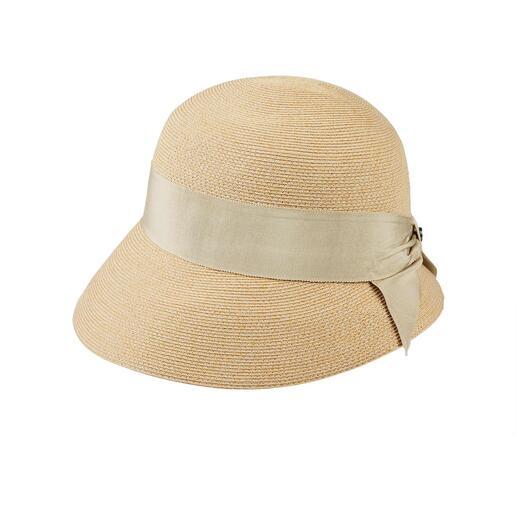 Chapeau tressé estival Loevenich Look élégant. Artisanat traditionnel. Et un prix agréablement abordable.