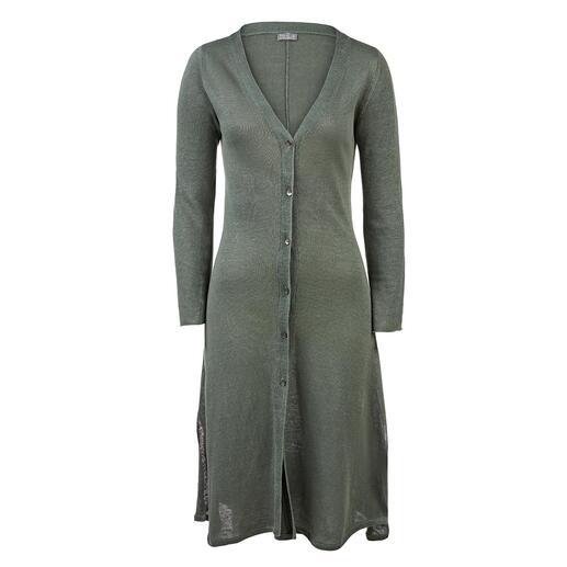 Robe cardigan neyo Une veste décontractée ou une robe élégante : le lin aéré peut difficilement être plus polyvalent.