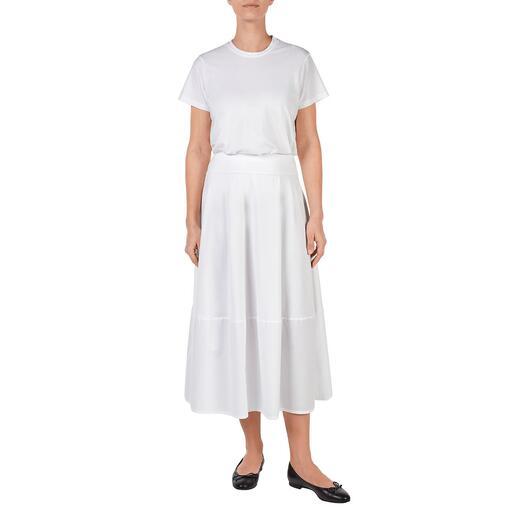 Jupe ou T-shirt basique blanche LABO.ART Basique et accrocheur à la fois : le deux-pièces épuré à la couleur blanche.