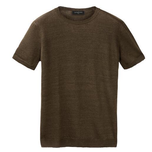 T-shirt en lin et soie Junghans 1954 Frais et sec grâce au lin, doux et souple grâce à la soie.