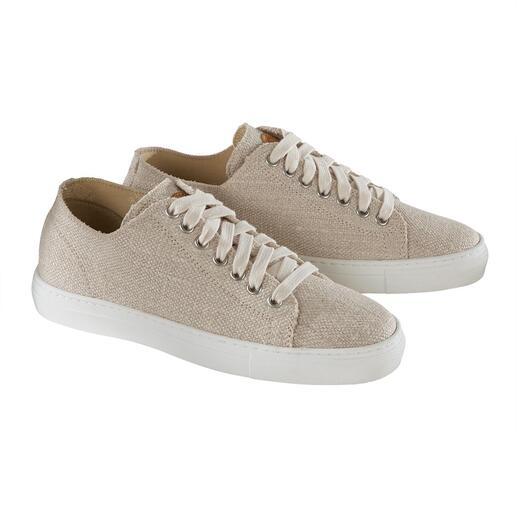 Sneaker en chanvre Risorse Future Aussi aérée que le lin, mais plus résistante. Et pourtant, douce et confortable.